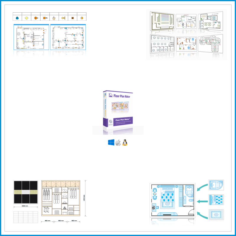 Edraw floor plan maker brand tech for Store floor plan maker
